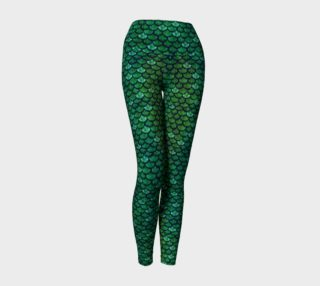 Glitterfish green preview