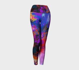 Aperçu de Leggings yoga Pluie de couleurs