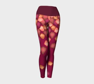 Falling Leaves Yoga Leggings preview