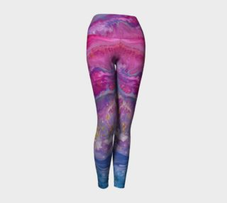 Aperçu de Powerful Pink purple Yoga leggings