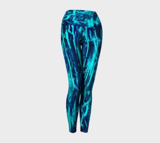 Athletic Leggings *Electric Blue* preview