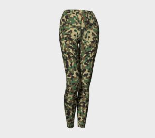 Aperçu de Camo Lady Yoga Leggings