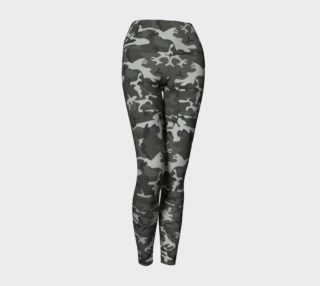 Winter Camo Yoga Leggings preview
