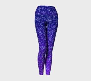 Aperçu de Spiral Vines, Blue Purple Ombre
