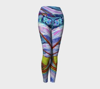 Infinity Invitation Abstract Leggings preview
