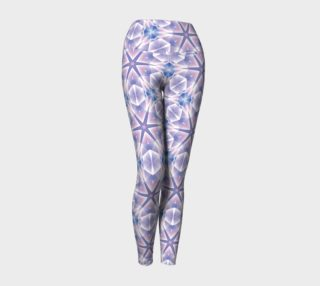 Lavender Shining Stars Patterned Leggings preview