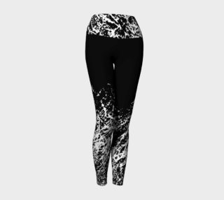 Design Leggings, Yoga pant black women preview
