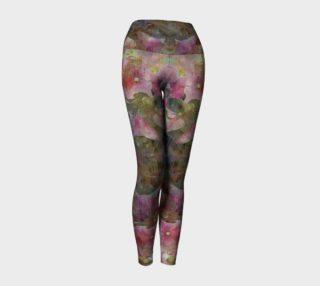 Sweet Pink Dreams Yoga Leggings preview