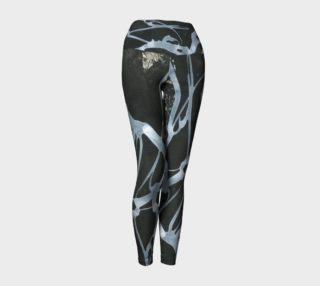Black and White Yoga Leggings preview