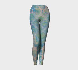 Trellis Pastel Yoga Leggings preview