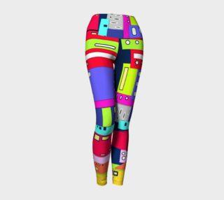 Space City Yoga Leggings preview
