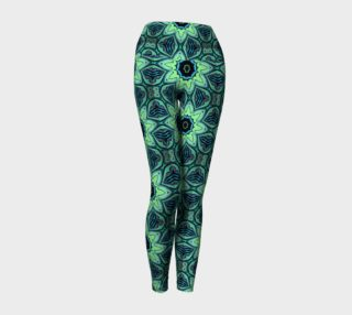 Flower Patch Yoga Leggings preview