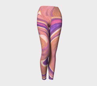 Pink Pastels Yoga Leggings preview
