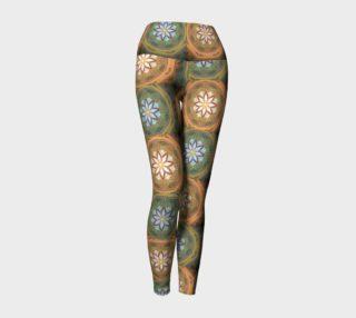 Eastern Mix Yoga Leggings preview