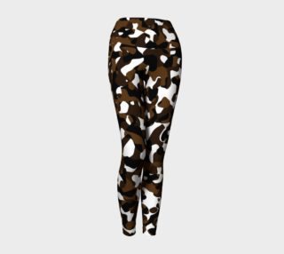 black brown and white camo  preview
