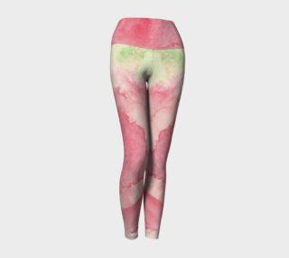 Rose Blush Yoga Leggings preview