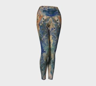 ocean tides yoga pants preview