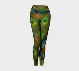 Aperçu de Nicobar-Peacock Fantasy Yoga Leggings