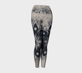Design Leggings, Mandala yoga pants preview