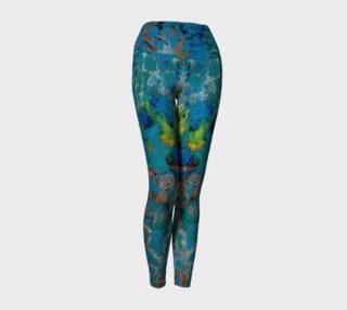Blue Multi Yoga Leggings preview