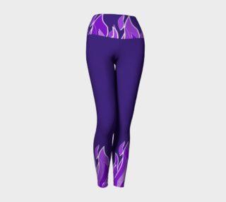 Violet Flame Yoga Pants preview