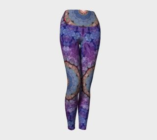 Purple Swirl Yoga Pants preview