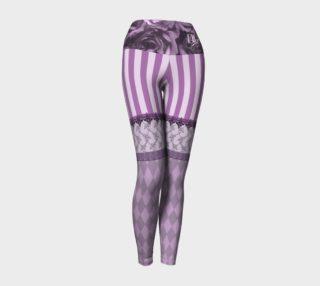 Purple Baroque Yoga Leggings preview