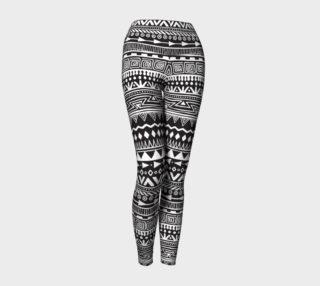 Aztec Print Yoga Leggings preview