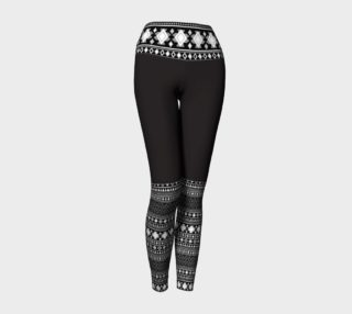 Ladies Fair Isle Yoga Leggings preview