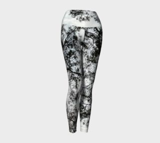 leggings for yoga with tree branches preview