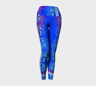 Bright Flower Blue Yoga Sport preview