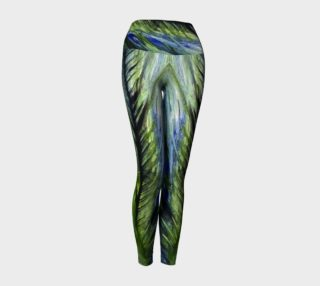 Peacock Yoga Leggings preview