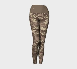 Legging camouflage terre preview