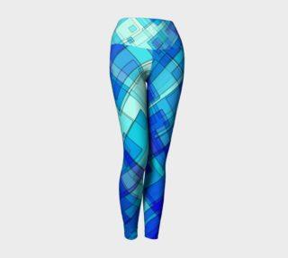 Geometric Yoga Leggings preview