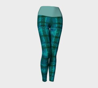 Modern Plaid No 3 with Teal Top preview