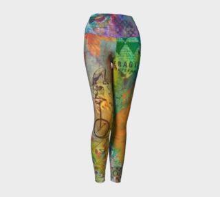 Life is a Circus! - Art Wear Yoga Leggings by Danita Lyn preview
