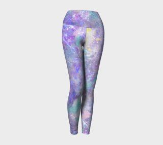 Watercolor Galaxy Leggings preview