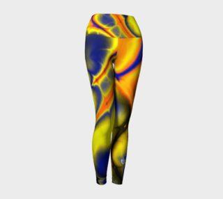 Serpineus - Yoga Leggings - by Danita Lyn preview