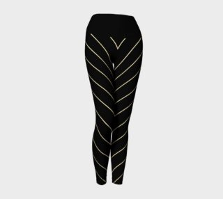 Slimming Stripes- Yoga Leggings preview