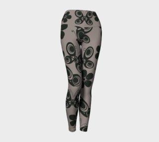 Aperçu de grey black butterfly yoga