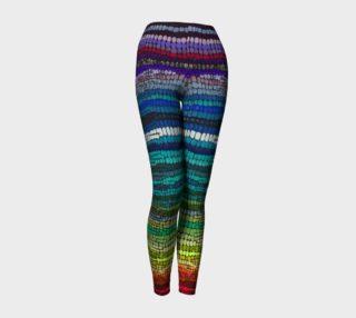 rainbow yoga pant preview