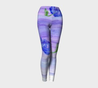Mum Flower Yoga Leggings preview