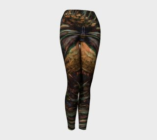 Artistic Flare Yoga Leggings preview