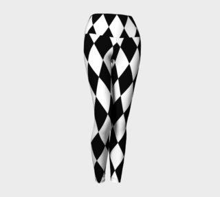 B&W Diamond Leggings preview