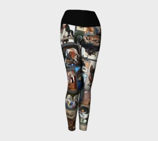 Dogs Yoga Leggings preview