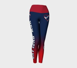 New England Football Lovin' Girl Leggings preview
