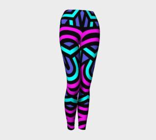Aperçu de Neon Pattern Leggings