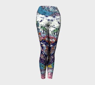 Magical Birds Yoga Leggings preview
