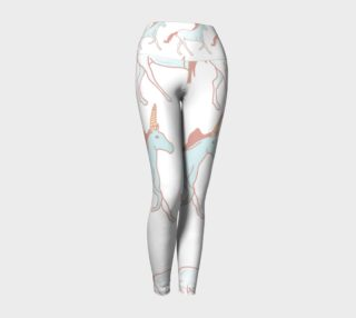 Unicorns Yoga Pants preview