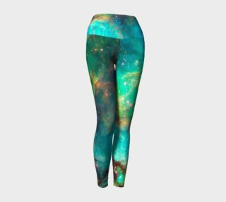 Star Cluster NGC 2074 in Cosmic Cloud Yoga Leggings preview